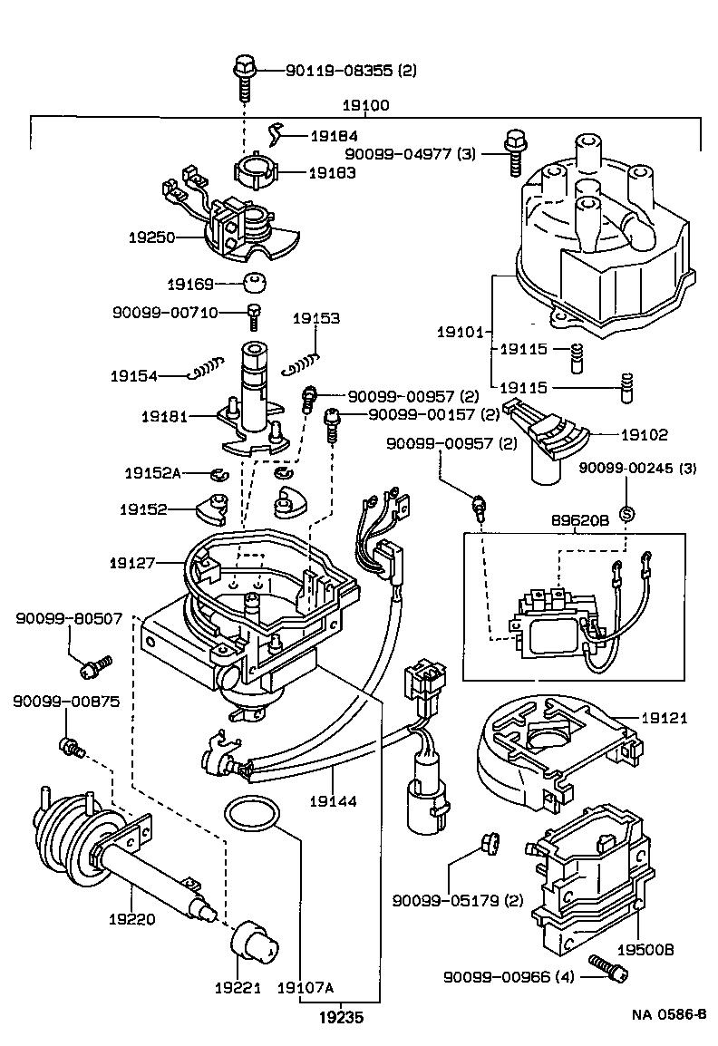 94 Toyota 4runner Transmission Diagram