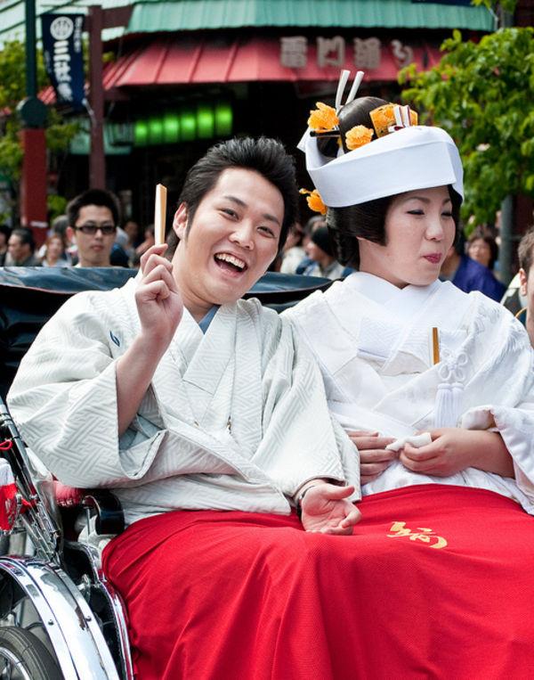 just married in Tokyo