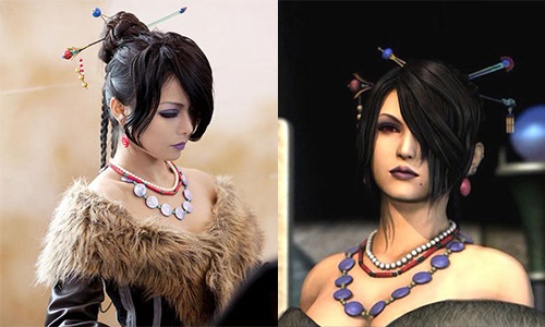Cosplay lulu final Fantasy X