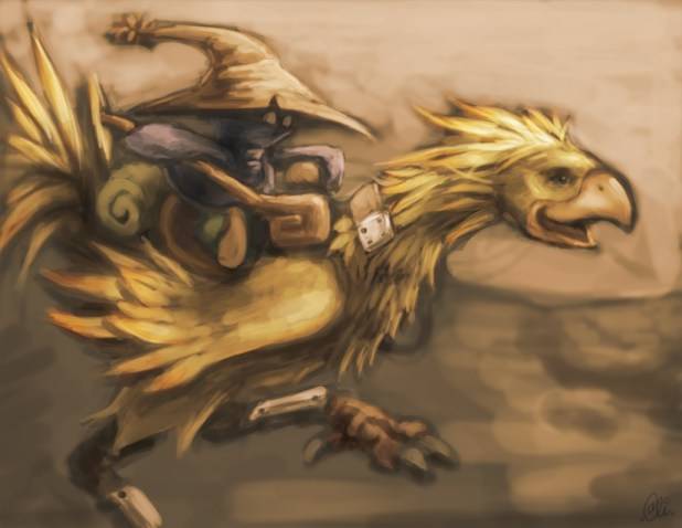 chocobo_rider_by_alivanart
