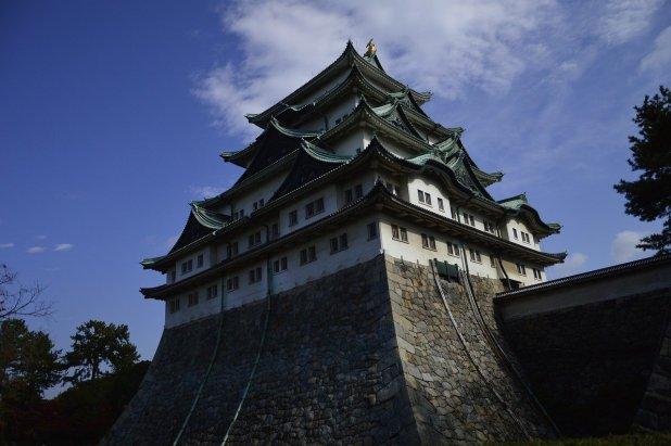 chateau de Nagoya au japon