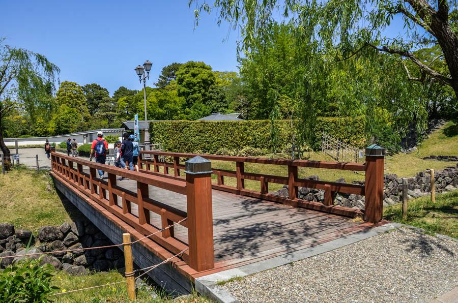 Sumpu Castle in Shizuoka