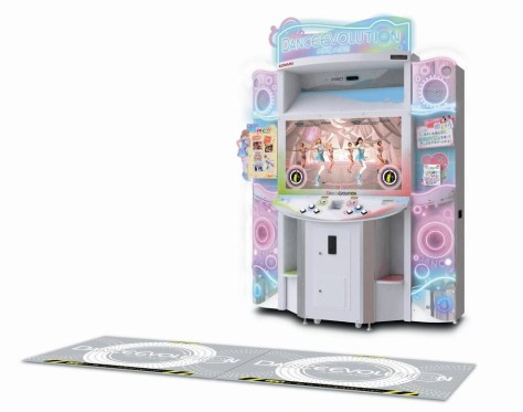 dance evolution cabinet