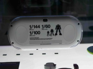 Limited edition Gundam Vita model