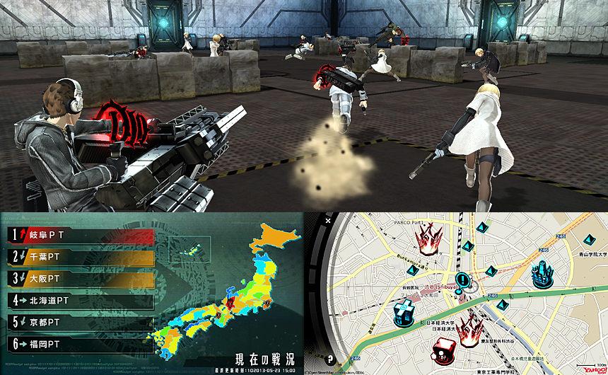 Amazing Freedom Wars Footage Japandaman