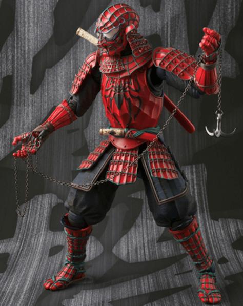 samurai spidey 6