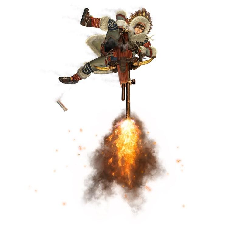 Hunter Light Bowgun - Aerial