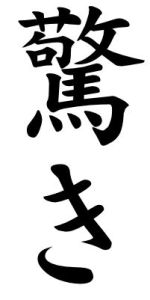 Japanese Word for Surprise