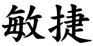 Japanese Word for Agility
