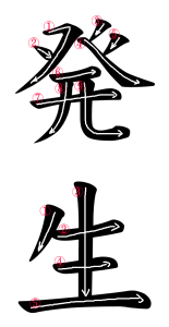 Japanese Word for Occurrence