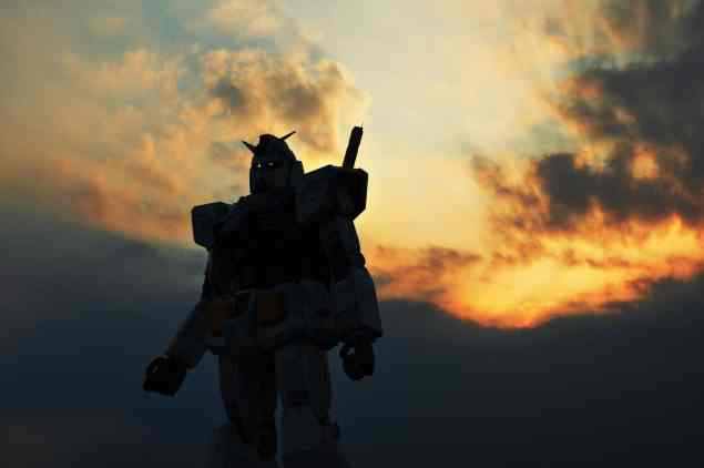 Robotstaty på Odaiba