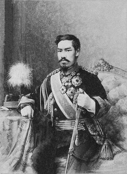 Kejsare Meiji, 1888