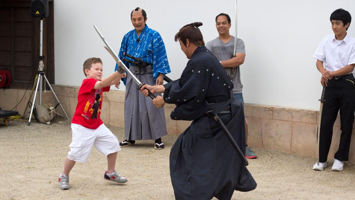 Resa med barn i Japan
