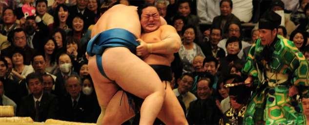 Sumo-match under vårturnén, Osaka
