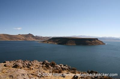 ペルーの湖