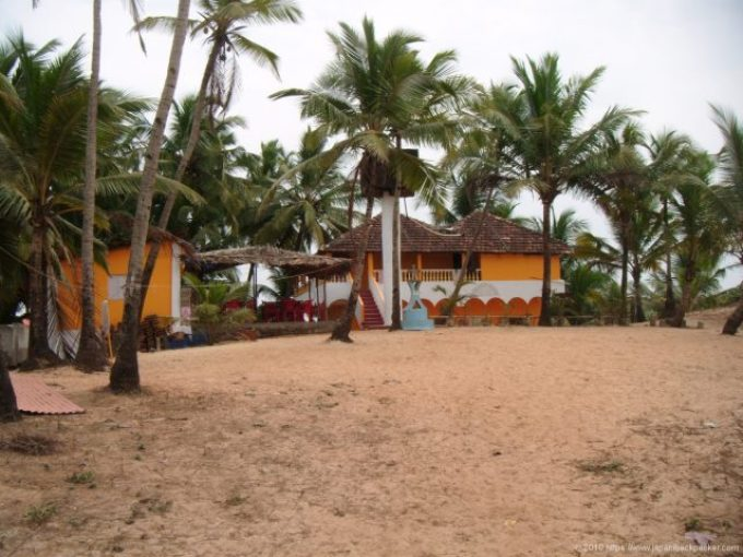 コヴァーラムビーチの安宿