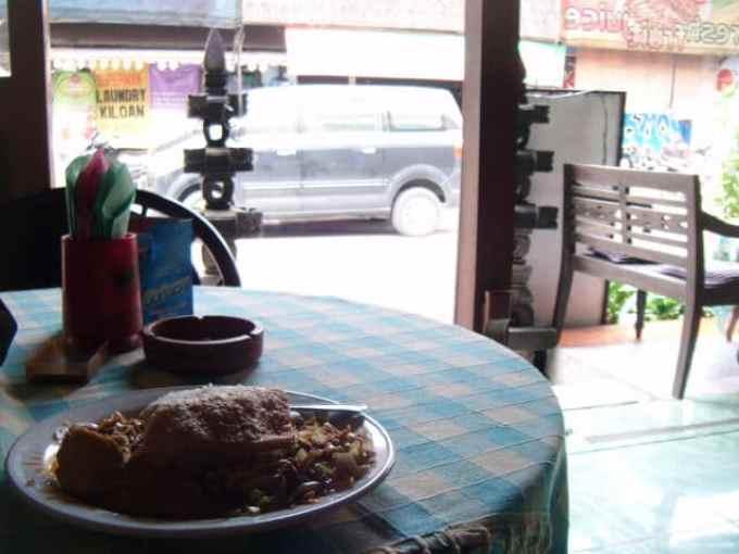 ジャワ島の食事