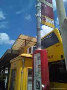 香港ホンハム駅A21エアポートバス