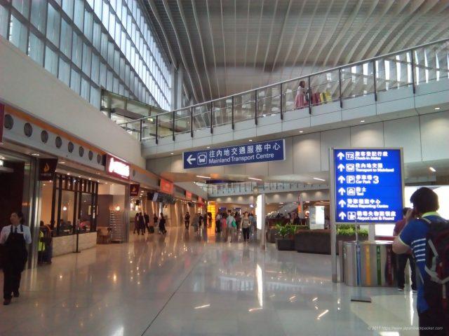 香港空港のターミナル2