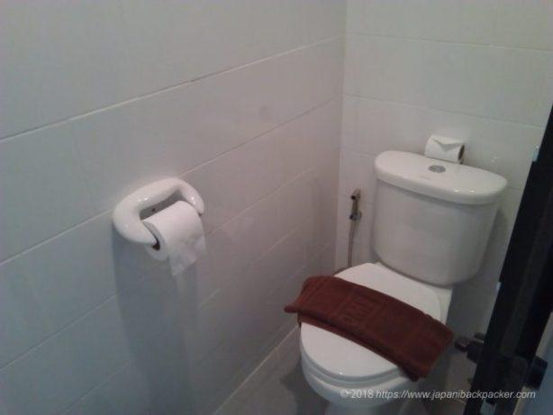 ドンムアンホテルのトイレ