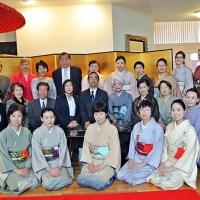 アメリカで日本伝統の季節の催し 新春を祝う初釜