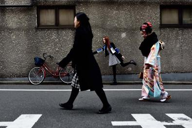 Fashion photography in Tokyo with Reverie