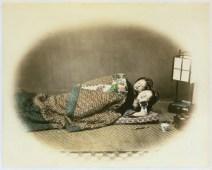 Sleeping Beuatieis by Felice Beato