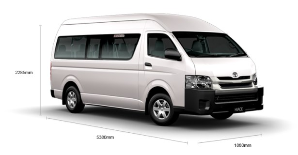 HIACE Commuter (13Seater+1)-1