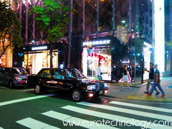 Burberry's new directly owned flagship store in Tokyo Ginza