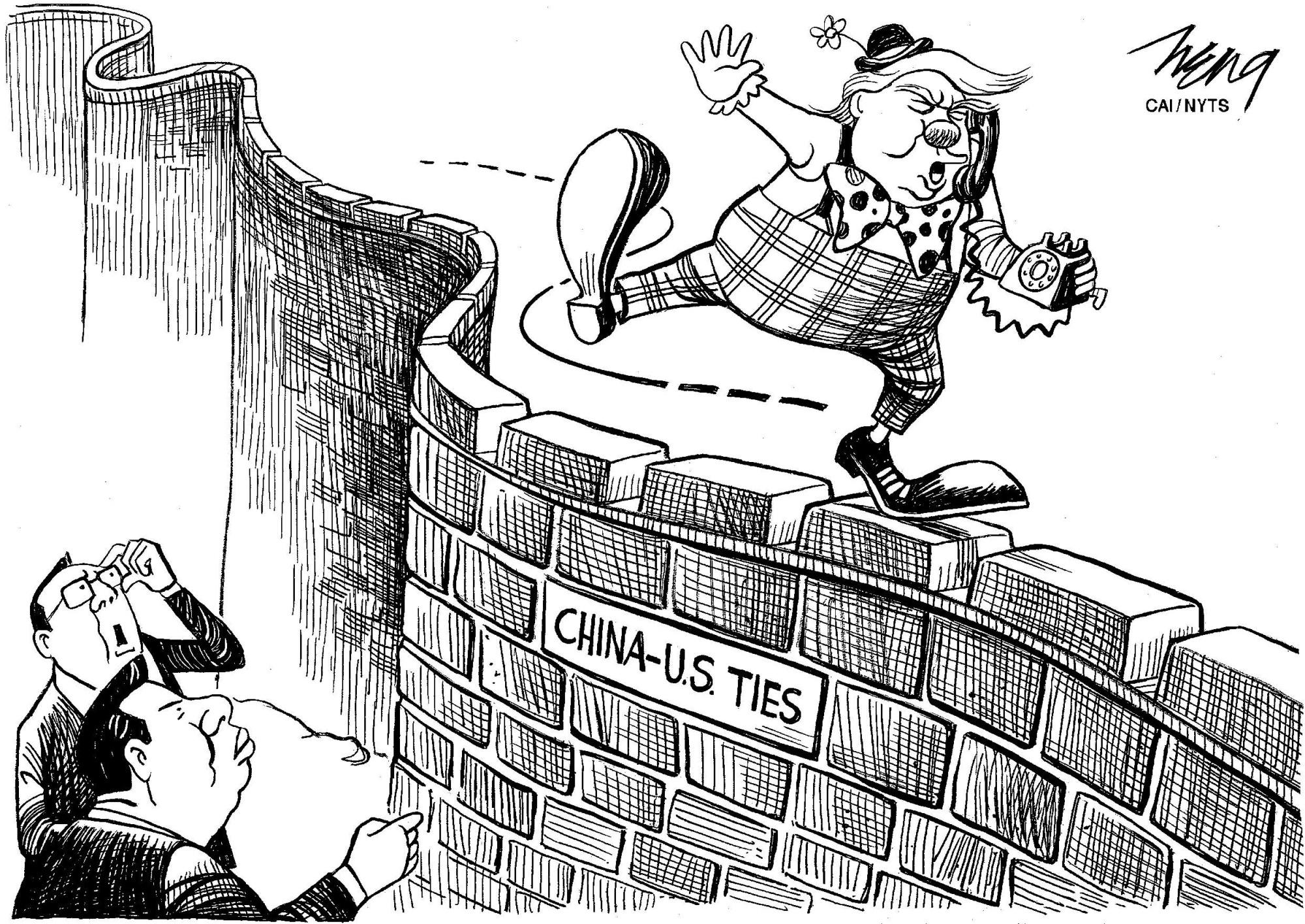 Trump Versus China The Madman Strategy