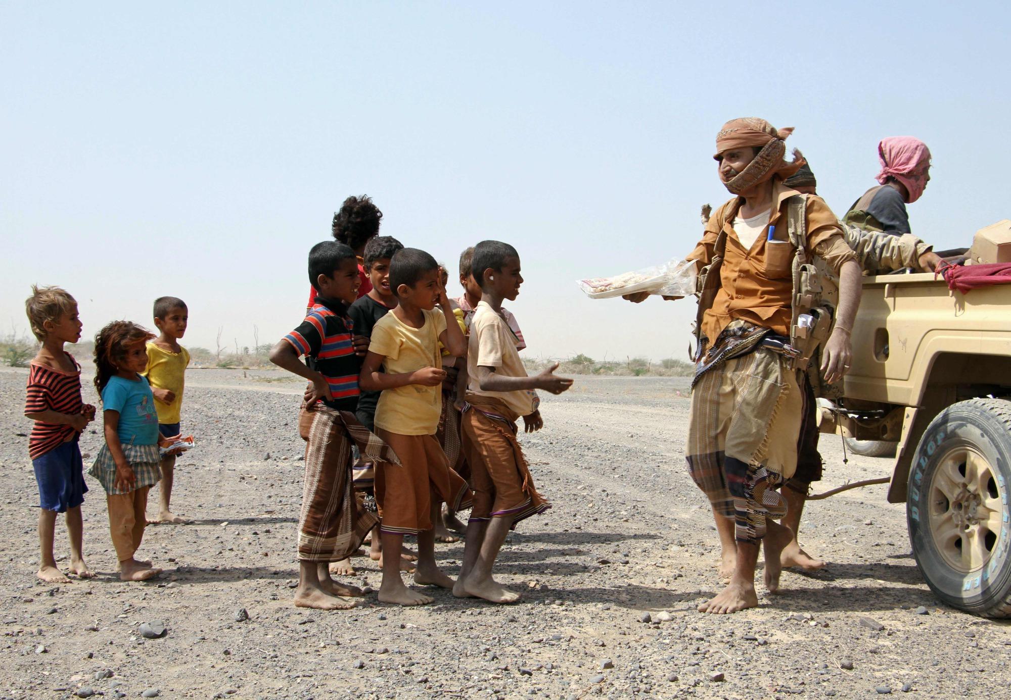 bambini yemen fame