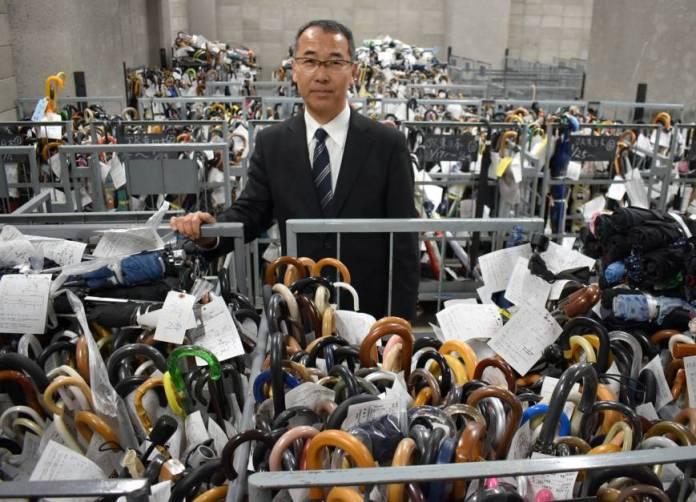 hàng triệu mặt hàng không chủ ở Tokyo