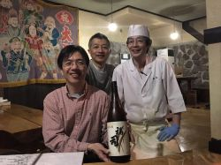 local eatery with cordial shop owner