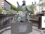 Scholar who named the 3 famous onsen in Edo-era