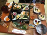 Kaiseki lunch with somen