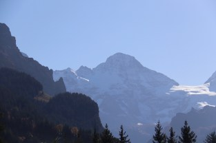 Breithorn in the distance