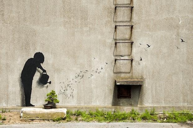 pejac street art tokyo japan