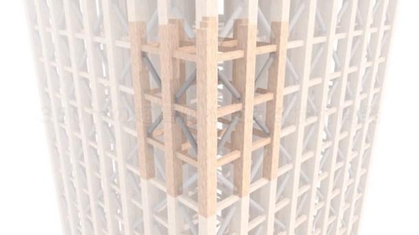 tallest world japan tokyo wooden skyscraper tower w350