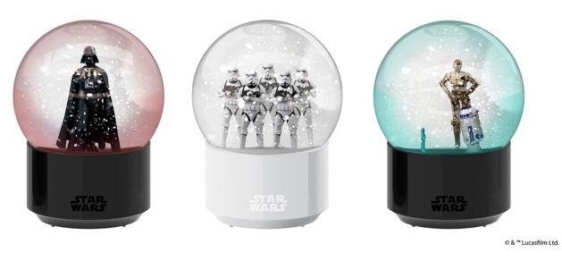 Star Wars Interactive Bluetooth Snow Globe by Amadana Imp