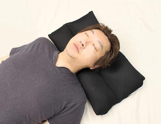 straight neck pillow for men