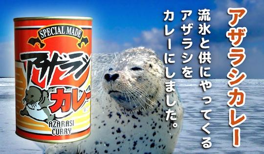 Hokkaido Canned Seal Meat Curry