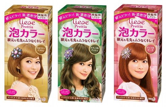 Liese Prettia Awa Bubble Color Hair Dye Set Sixteen Hair