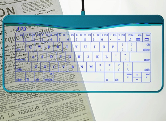 Q-gadget KB01 Touchpad Glass Keyboard