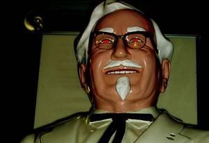 Maldição do Coronel Sanders