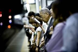 Suicídios em linhas de trem