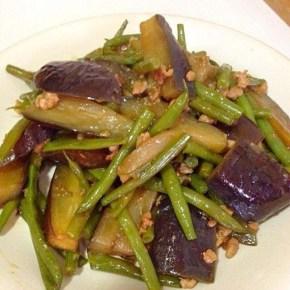 Sauté aux légumes d'été avec miso 夏野菜の味噌炒め
