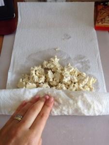 Tofu en miette