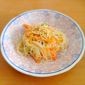 Salade aux Vermicelles et aux petits légumes 春雨サラダ