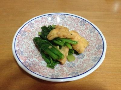 sauté de légume au tofu à la sauce d'huitre