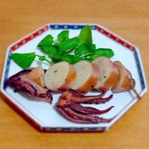 Ikameshi calamar farci au riz イカめし